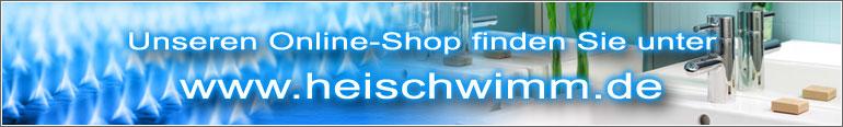 Heischwimm - Der Shop für Heizung, Schwimmbad und Sanitär