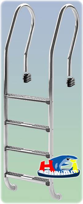 poolleiter ergoline 400 edelstahl. Black Bedroom Furniture Sets. Home Design Ideas