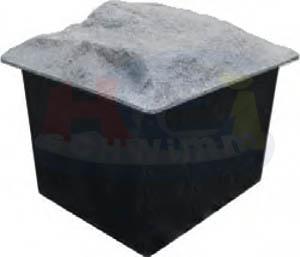 filterschacht mit deckel f r filterkessel bis 600. Black Bedroom Furniture Sets. Home Design Ideas