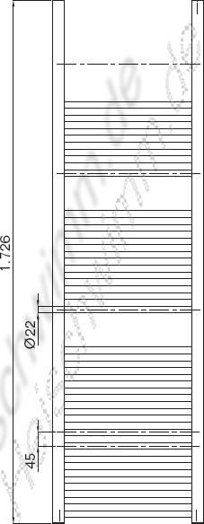badheizk rper logatrend fast linea 1726 mm x 500 mm. Black Bedroom Furniture Sets. Home Design Ideas